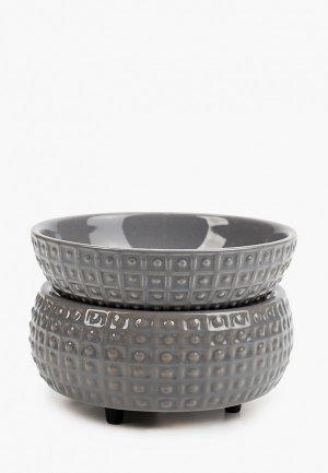Декор настольный Candle Warmers сланец / CWD-SLATE. Цвет: серый