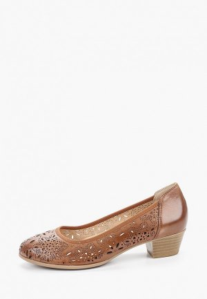 Туфли Caprice. Цвет: коричневый