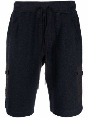Спортивные шорты с карманами карго Gran Sasso. Цвет: синий