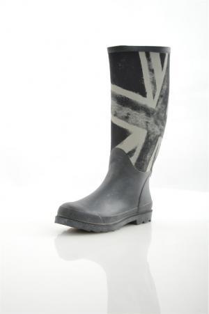 Резиновые сапоги KEDDO. Цвет: черный