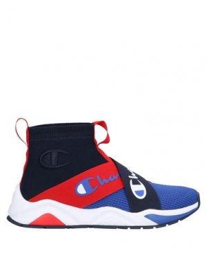Высокие кеды и кроссовки CHAMPION. Цвет: синий