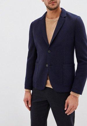 Пиджак Hugo. Цвет: синий