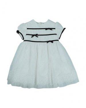 Платье ALETTA. Цвет: белый