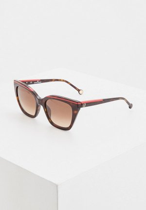 Очки солнцезащитные Carolina Herrera 832-722. Цвет: коричневый
