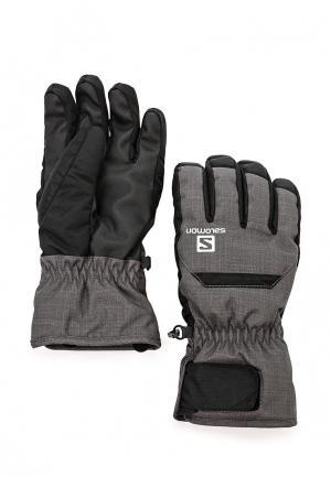 Перчатки горнолыжные Salomon CRUISE M. Цвет: серый