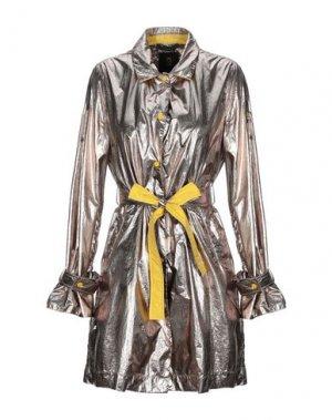 Легкое пальто CIESSE PIUMINI. Цвет: платиновый