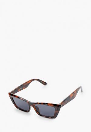 Очки солнцезащитные Mango - GIA. Цвет: коричневый