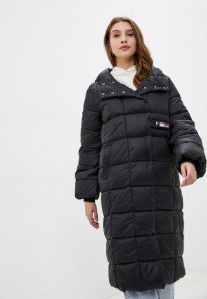 Куртка утепленная Manila Grace. Цвет: черный