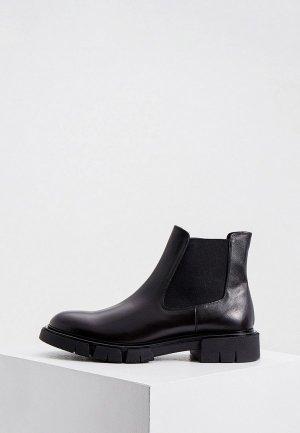 Ботинки Fratelli Rossetti. Цвет: черный