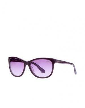 Солнечные очки STING. Цвет: фиолетовый
