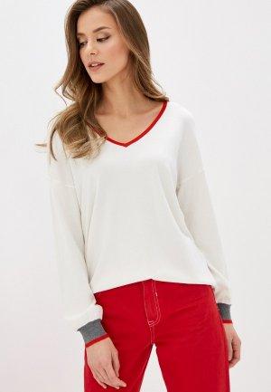 Пуловер Tezenis. Цвет: белый