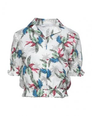 Pубашка GUESS. Цвет: белый