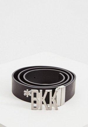 Ремень Bikkembergs. Цвет: черный