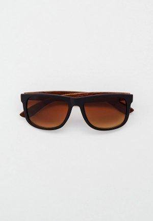 Очки солнцезащитные Eyelevel Parker. Цвет: черный