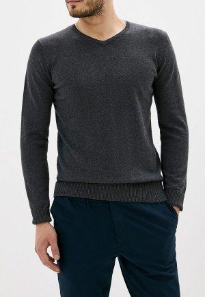Пуловер F5. Цвет: серый