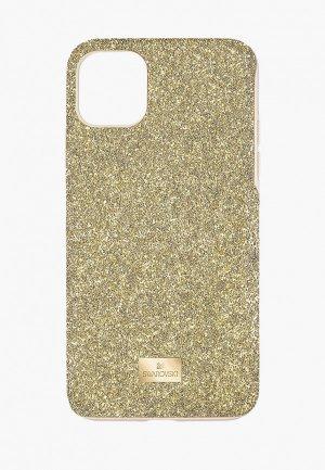 Чехол для iPhone Swarovski® 12 mini. Цвет: золотой