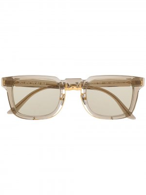 Солнцезащитные очки N4 Mask Kuboraum. Цвет: серый
