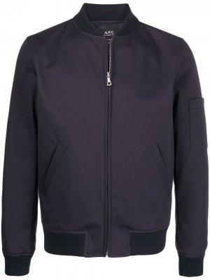 Куртка Gregoire A.P.C.. Цвет: синий