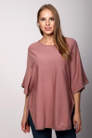 Пуловер Lebek. Цвет: розовый