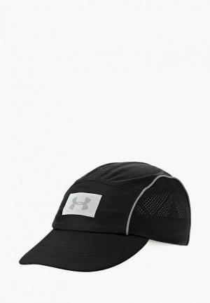 Бейсболка Under Armour UA Packable Run Cap. Цвет: черный