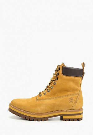Тимберленды Timberland Courma Guy Boot WP SPRUCE YELLOW. Цвет: желтый
