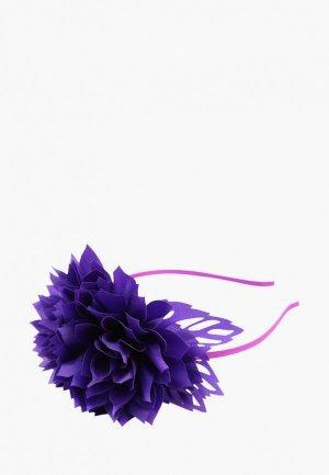 Ободок Stilmark. Цвет: фиолетовый