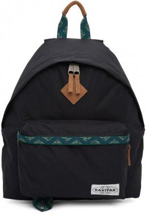 Black Padded Pakr® Backpack Eastpak. Цвет: nativeb