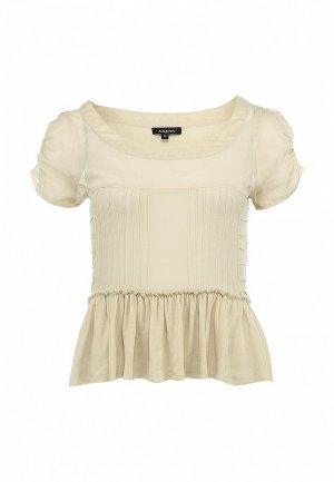 Блуза Axara AX003EWFU560. Цвет: бежевый