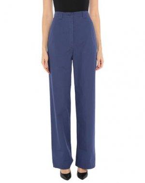 Повседневные брюки ATTIC AND BARN. Цвет: грифельно-синий