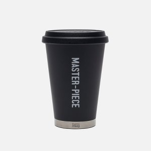 Термокружка x rmo Mug Mobile Tumbler Mini Master-piece. Цвет: чёрный