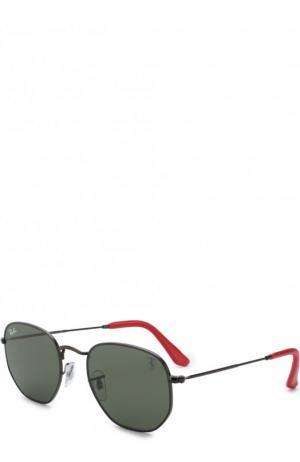 Солнцезащитные очки Ray-Ban. Цвет: черный