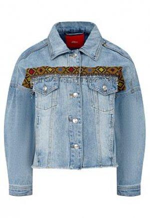 Джинсовая куртка S.Oliver