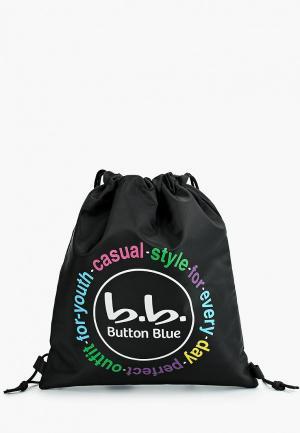Мешок Button Blue. Цвет: черный