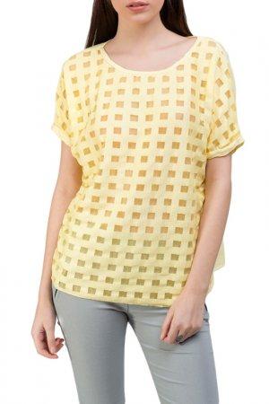 T-Shirt DIOXIDE. Цвет: yellow