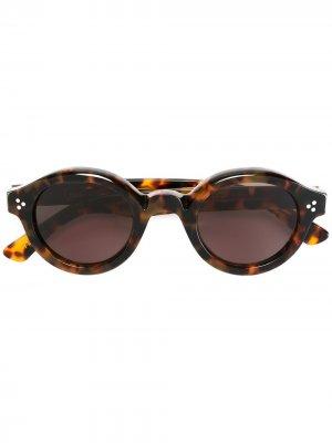 Солнцезащитные очки Lacorbs Lesca. Цвет: коричневый