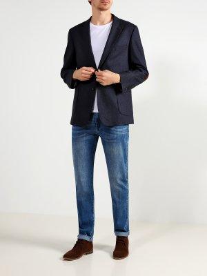 Зауженные джинсы Ritter Jeans. Цвет: siniy