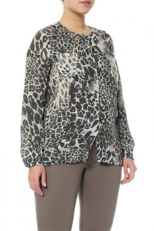 Блуза Monari. Цвет: черный, бежевый