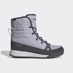 Сапоги TERREX Choleah Padded ClimaProof adidas. Цвет: серый