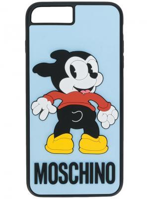 Товары для дома Moschino. Цвет: синий