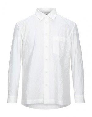 Pубашка ISSEY MIYAKE MEN. Цвет: белый