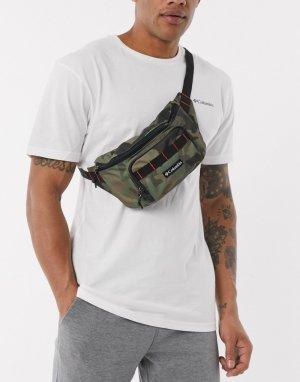 Камуфляжная сумка-кошелек на пояс -Зеленый Columbia