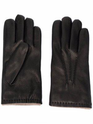 Перчатки Druner Orciani. Цвет: черный