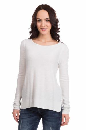 Пуловер Comma. Цвет: белый
