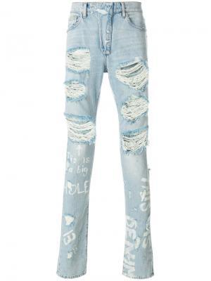 Рваные джинсы Ih Nom Uh Nit
