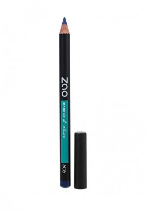Карандаш для глаз ZAO Essence of Nature бровей и губ 605 темно-синий, 1,17 г. Цвет: синий