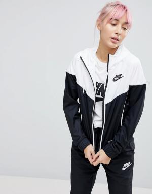Ветровка колор блок Nike. Цвет: мульти