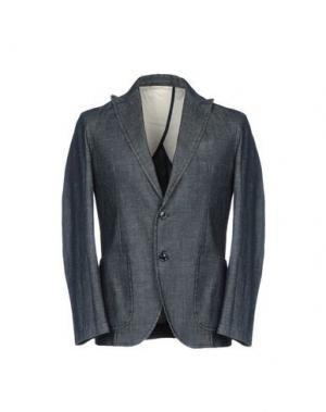 Пиджак CARE LABEL. Цвет: синий