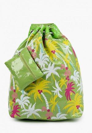 Комплект Zemsa пляжный. Цвет: зеленый