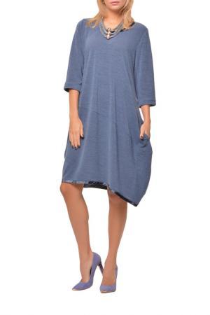 Платье Kata Binska. Цвет: джинсовый