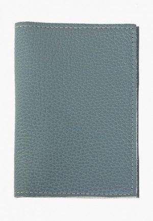Обложка для паспорта Kokosina. Цвет: голубой
